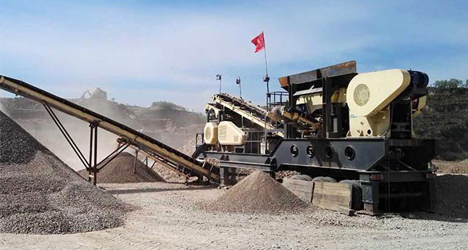 300-400TPH Limestone Crushing Process
