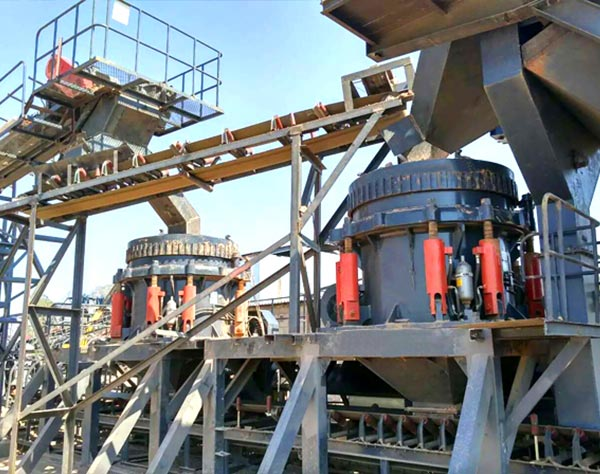 Zimbabwe Crushed Stone Production Line