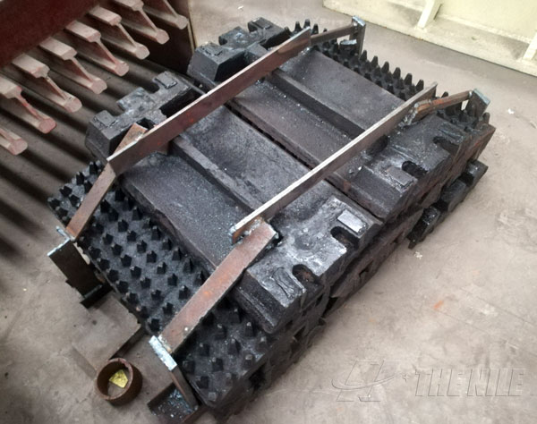 The roller of roll crusher
