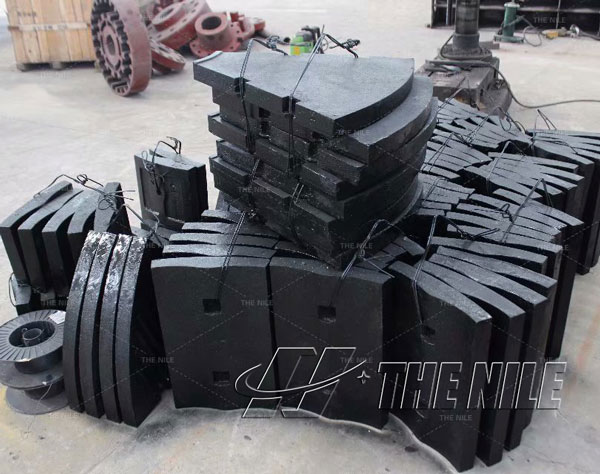 chrome alloy ball mill liner