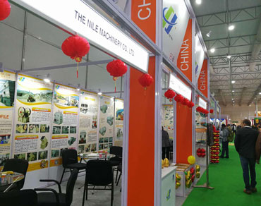 During 11th-14th December, Mrs Lily Li, CEO of The Nile Machinery attended BAUMA CONEXPO INDIA with h