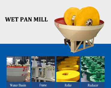 Wet pan mill— the first choice for medium and small beneficiation