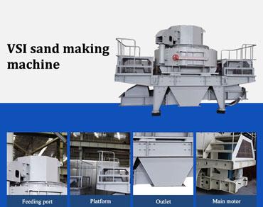 Brief Introduction Of VSI Sand Making Machine