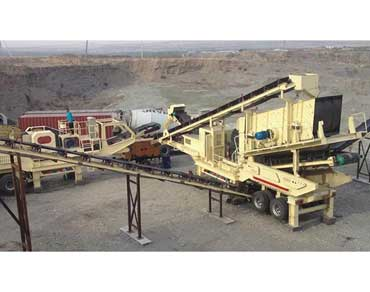 Granite / Basalt Crushing Processing Line